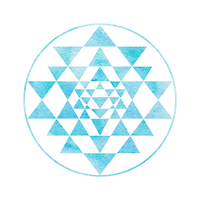 Sacred Geometry And Alchemy Symbol Sri Yantra